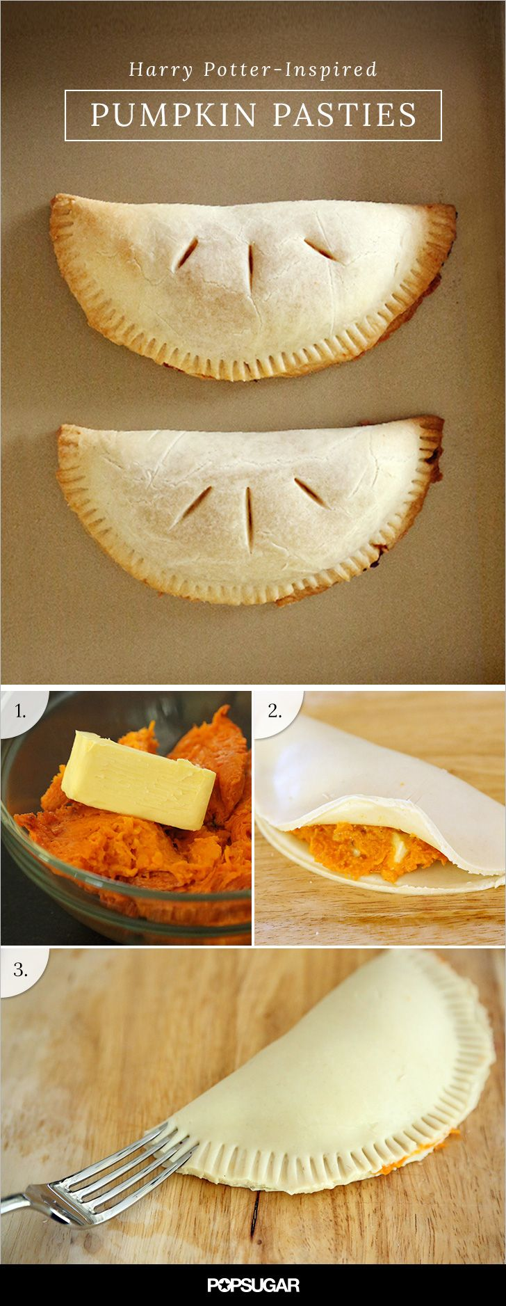 Let These Harry Potter Inspired Pumpkin Pasties Cast A Spell On Your Taste Buds Recipe Pumpkin Pasties Food Pasties Recipes