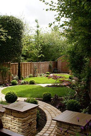 Stone Circle Garden Designs by Green Tree Garden Designers