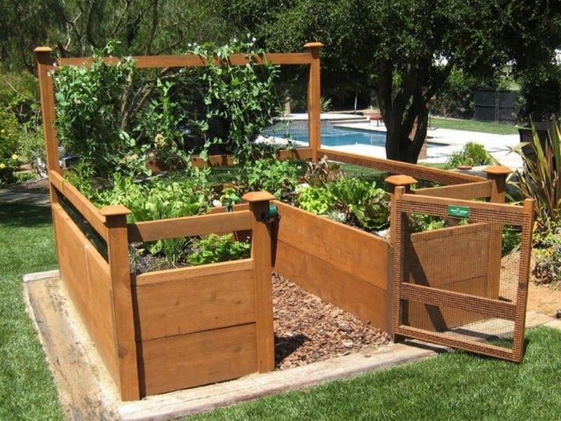 Attractive Above Ground Vegetable Garden Ideas Part - 5: Above Ground Vegetable Garden - Best Home Design Ideas