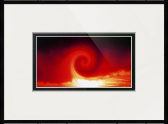 Red Phoenix Rising 1 by Sherrie Larch