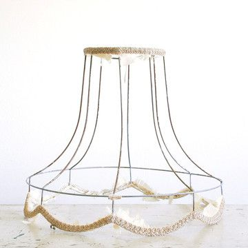 Roberta Grove: Wire Lampshade Frame II, at 19% off! | beyond hip ...