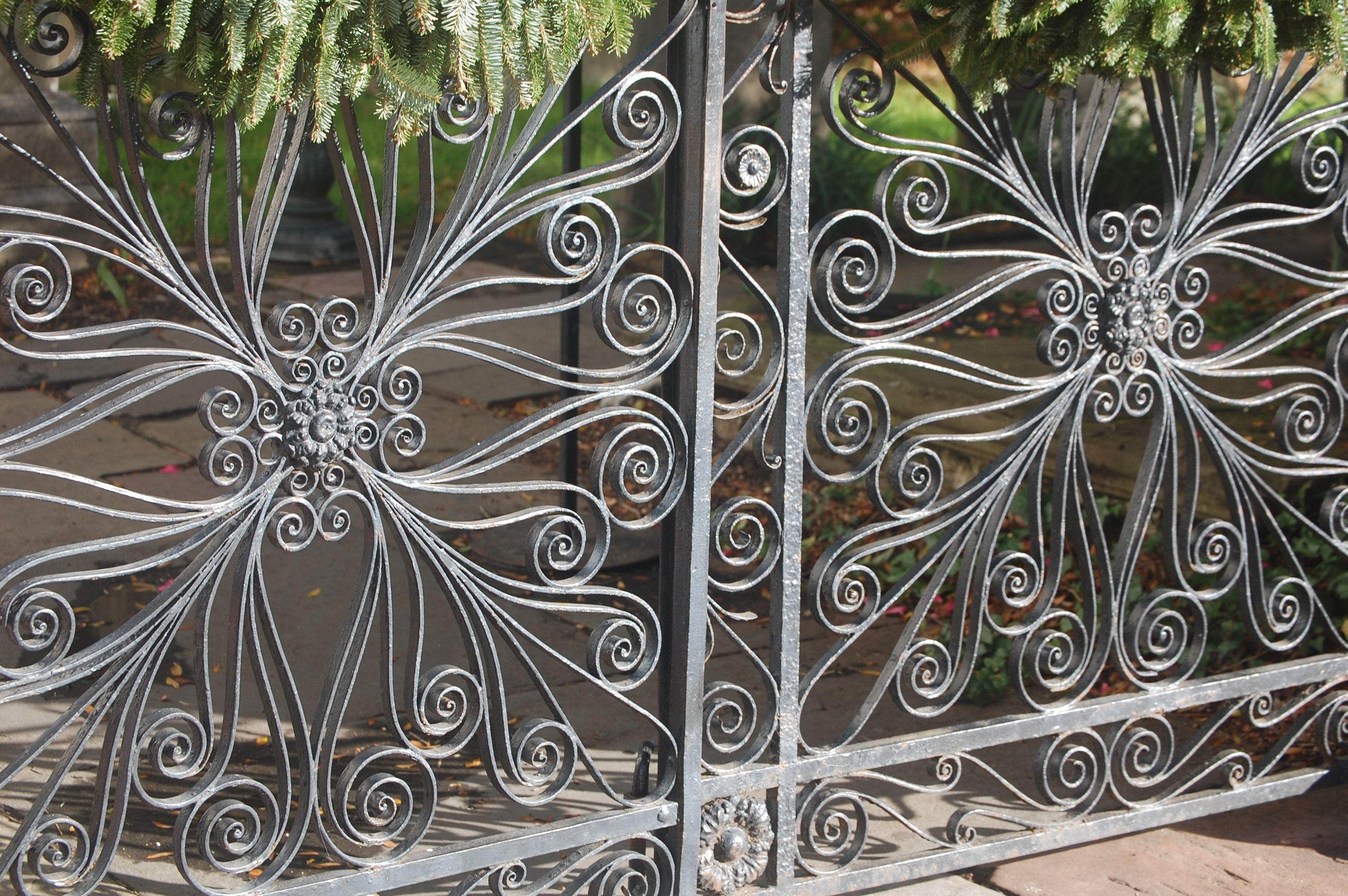 Doing The Charleston Iron Work Artwork Plants