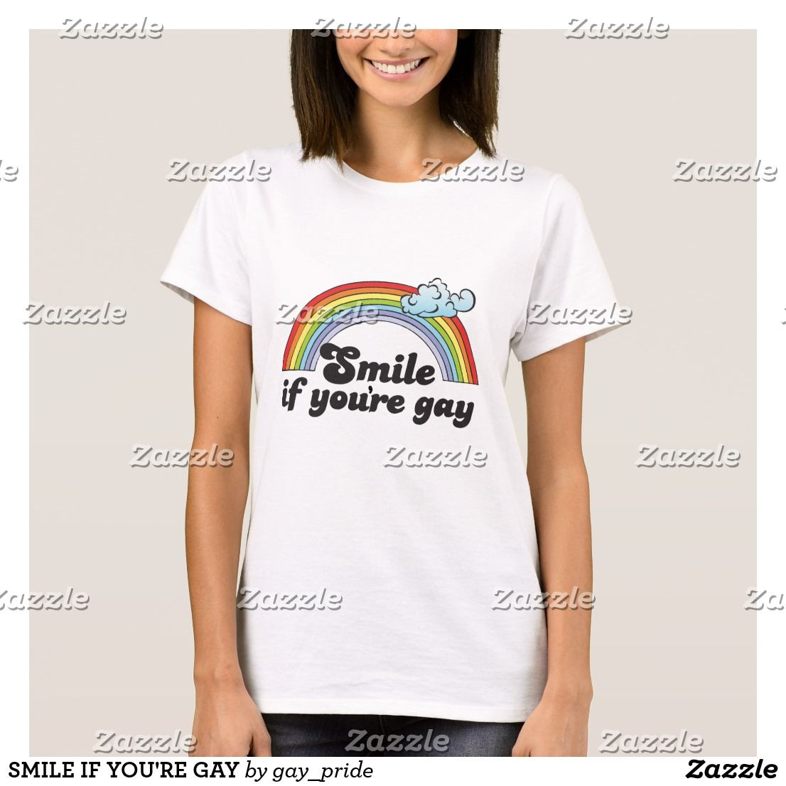 Smile if you re gay t shirt 12