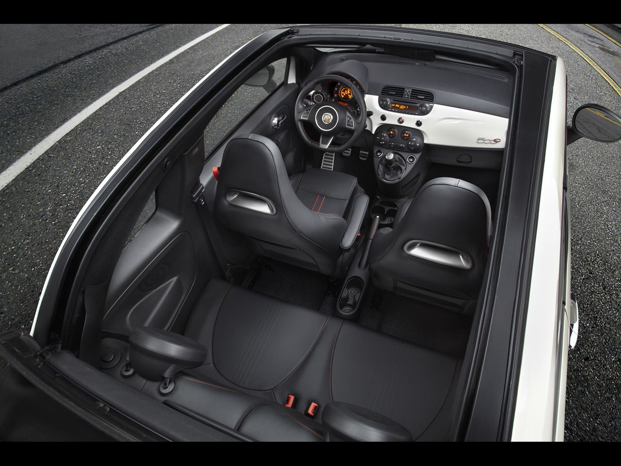 2013 Fiat 500 Abarth and 500c Abarth - Interior Top - 1280x960 ...