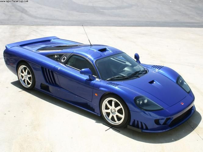 Beautiful Blue Saleen S7