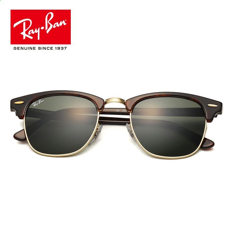 261671d7f5f15 Rayban Retro 2018 original diseñador de la marca gafas de sol clásicas de  protección UV hombres