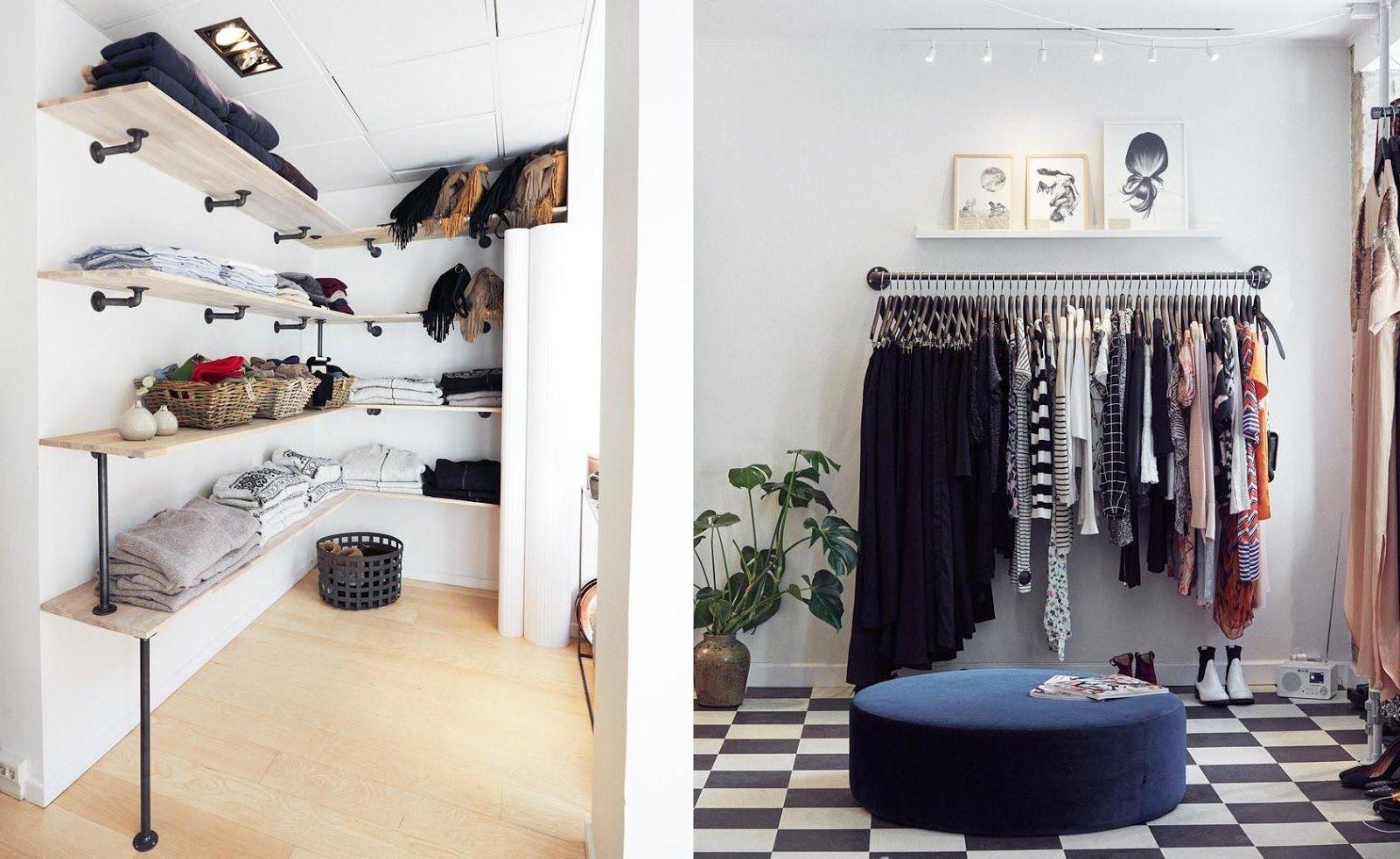 RackBuddy Industrial Design for an Open Wardrobe   Offene garderobe, Ankleide zimmer ...