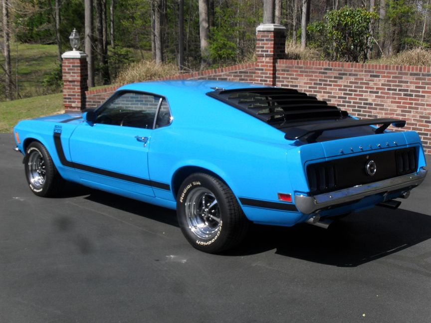 ford mustang boss 302 automatic transmission