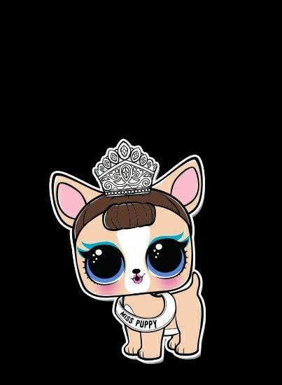 La Mascota De Miss Baby Lol Dolls Cute Drawings Sweet Drawings