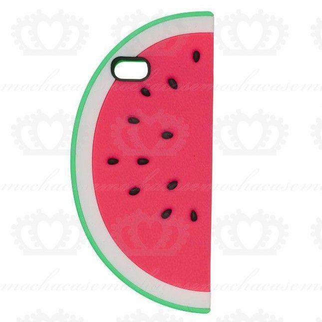 Kirmizi Renk Karpuz Desenli Silikon Iphone 5 Ve Iphone 5s Kilifi Iphone 5s Iphone Renkler
