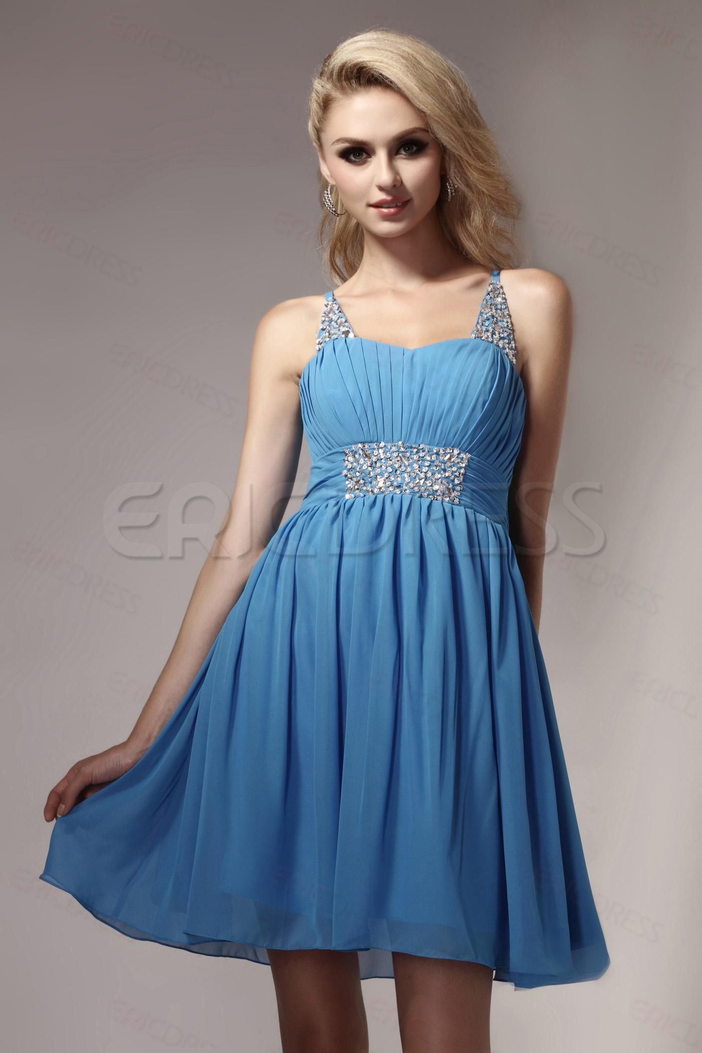 Fancy aline straps minishort dashaus cocktail dress junior prom