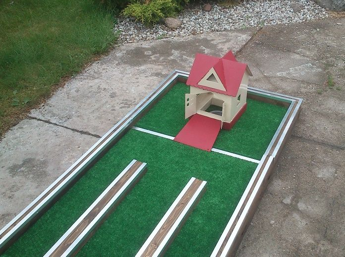 Mini Golf End Hole Obstacle Summer House From Metal Golf Putters Golf Club Grips Golf Pride Grips