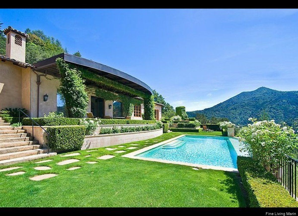 I could live here...Barry Zito's house in Marin (on sale for + $11,000,000)