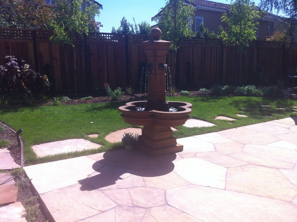Gardens · Water Features Come In Different Sizes And Styles. You Need A GFI  Electrical Outlet To