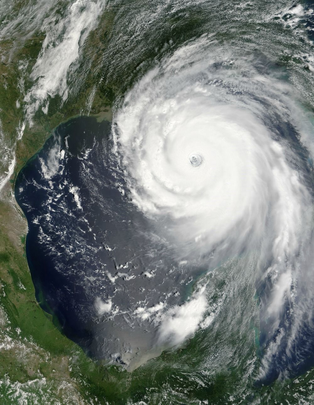 8 Extreme Weather Events As Seen From Space Hurricane Katrina Atlantic Hurricane Hurricane