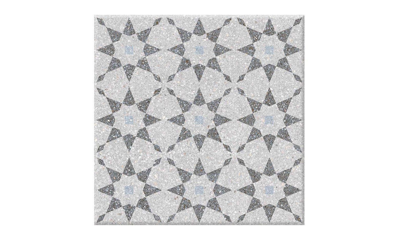 Carrelage Terra Decor Aspect Carreaux De Ciment Gris Clair Dim
