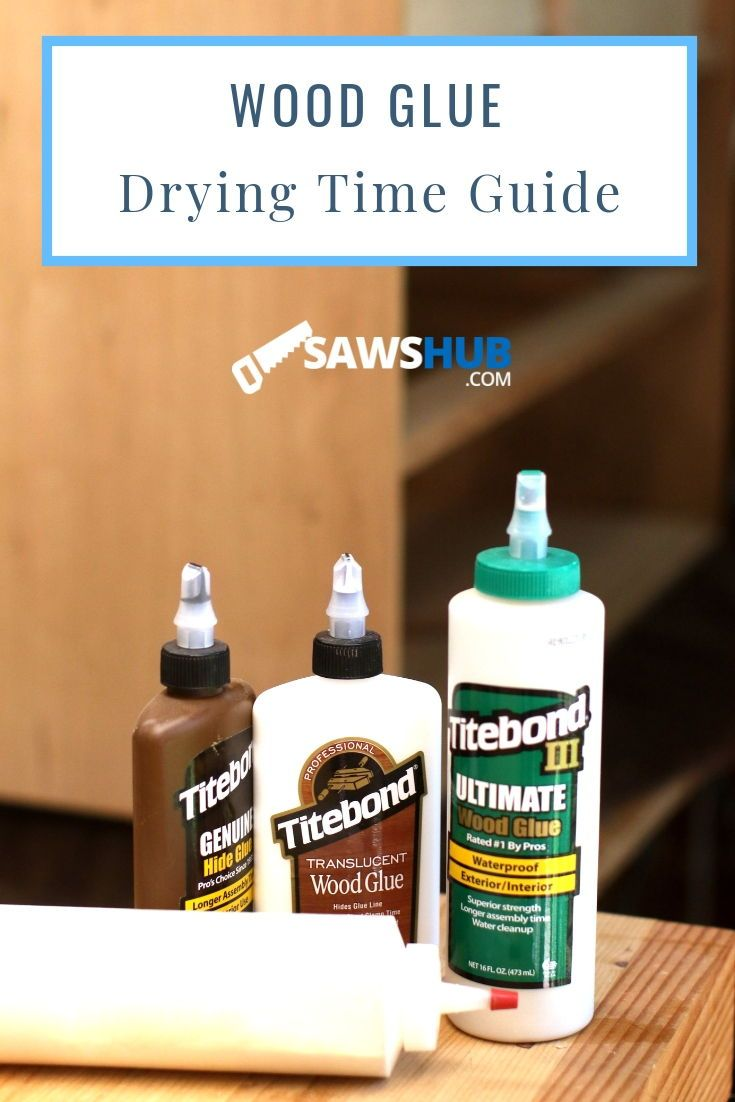 How long does wood glue take to dry fine woodworking