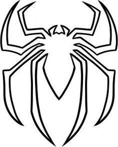 how to draw the spiderman logo spiderman symbol step 5 jordan rh pinterest com spiderman clipart black and white spiderman clipart black and white