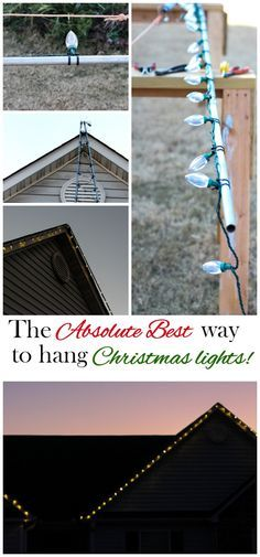 Christmas Light Hanger Pole