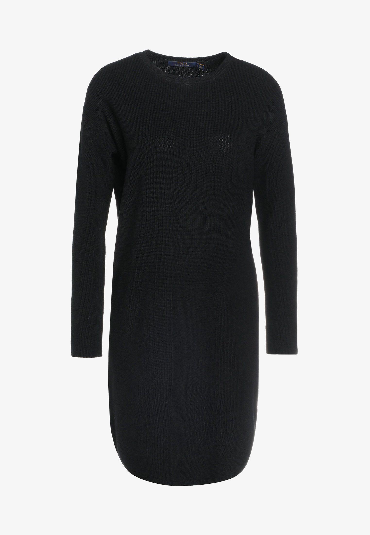black zalando at strickkleid kleider polo ralph lauren