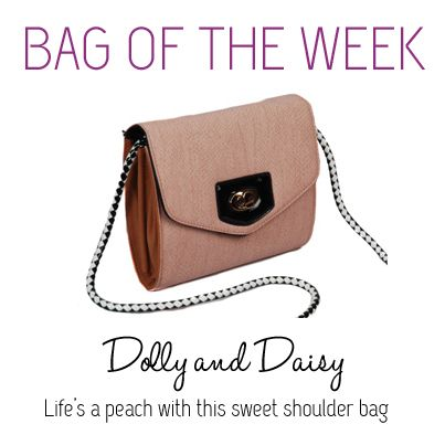 Life S A Peach With This Sweet Dolly Daisy Shoulder Bag