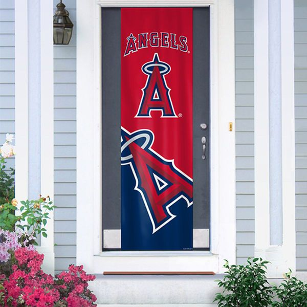 Los Angeles Angels of Anaheim Door Banner - $27.99  sc 1 st  Pinterest & Los Angeles Angels of Anaheim Door Banner - $27.99 | Sports ... pezcame.com