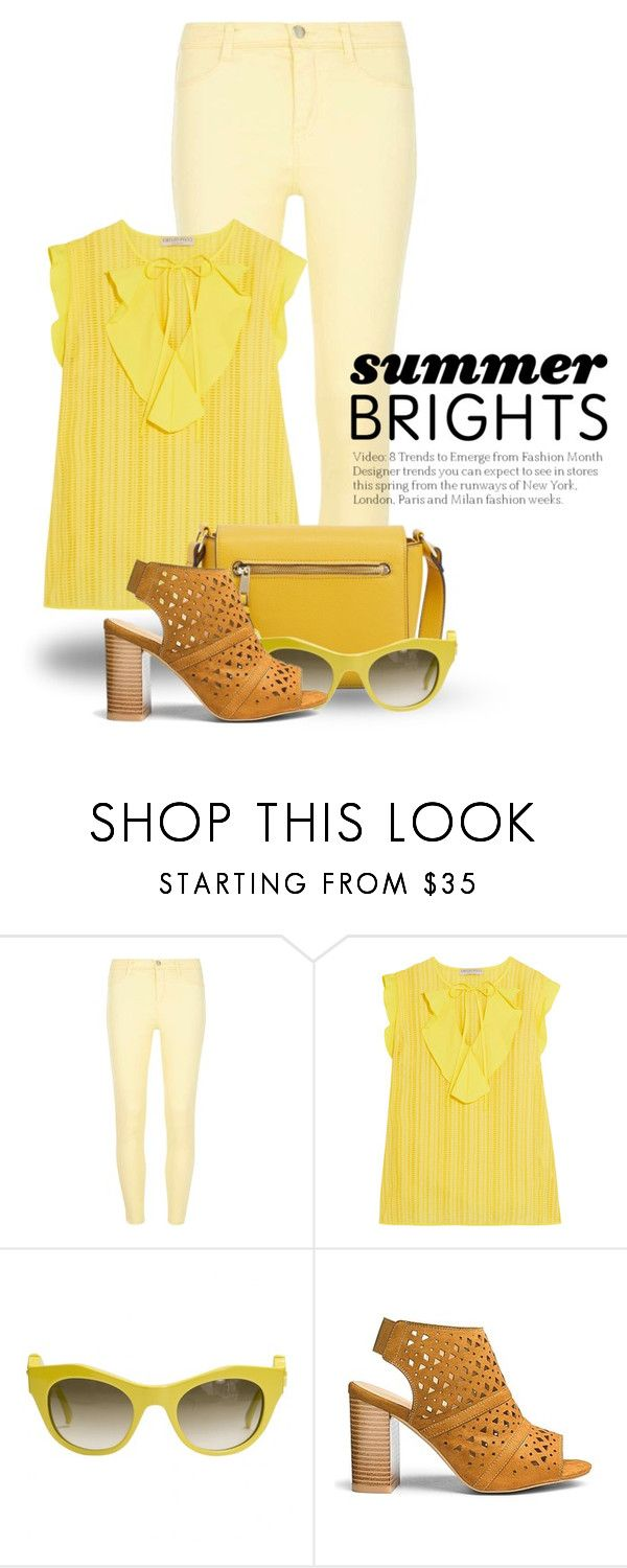 """""""Yellow Outfit! 3745"""" by boxthoughts ❤ liked on Polyvore featuring Dorothy Perkins, Emilio Pucci and Givenchy"""