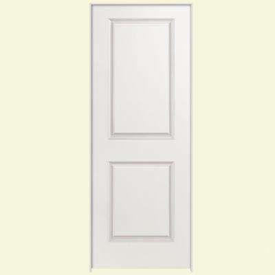 Smooth 2 Panel Square Hollow Core Primed Composite Single Prehung Interior Door Prehung Interior Doors Doors Interior Masonite Interior Doors