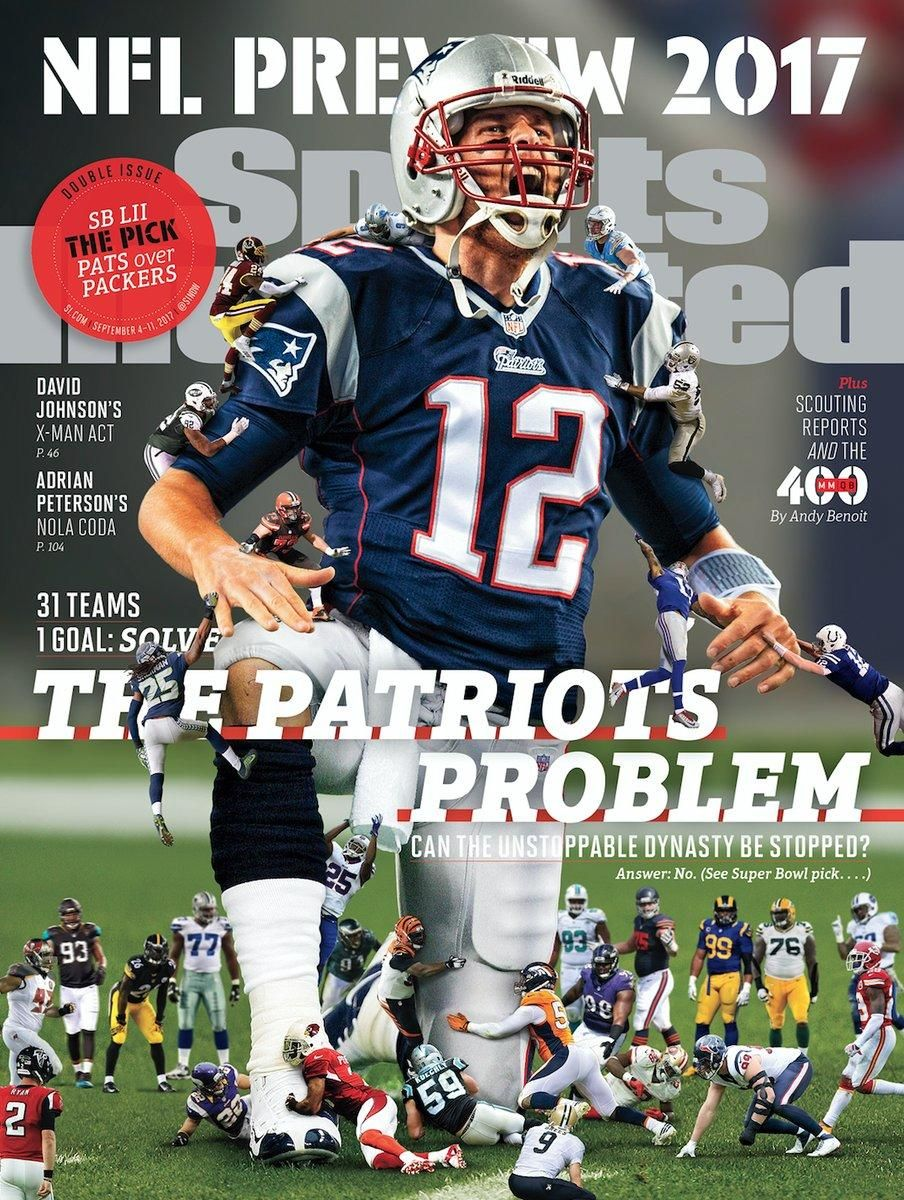 September 4 2017 tom brady sports illustrated covers new england patriots