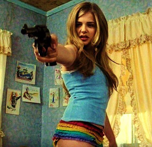 Chloe Moretz Hick Movie Boob Gif