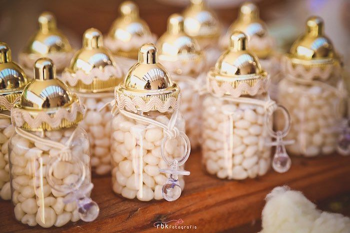 Baby Bottle Favors From A Little Lamb Baby Shower Via Karau0027s Party Ideas |  KarasPartyIdeas.com (19)