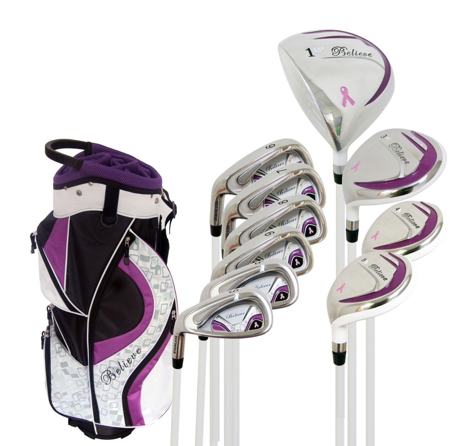 Golf clubs believe founders club ladies complete golf