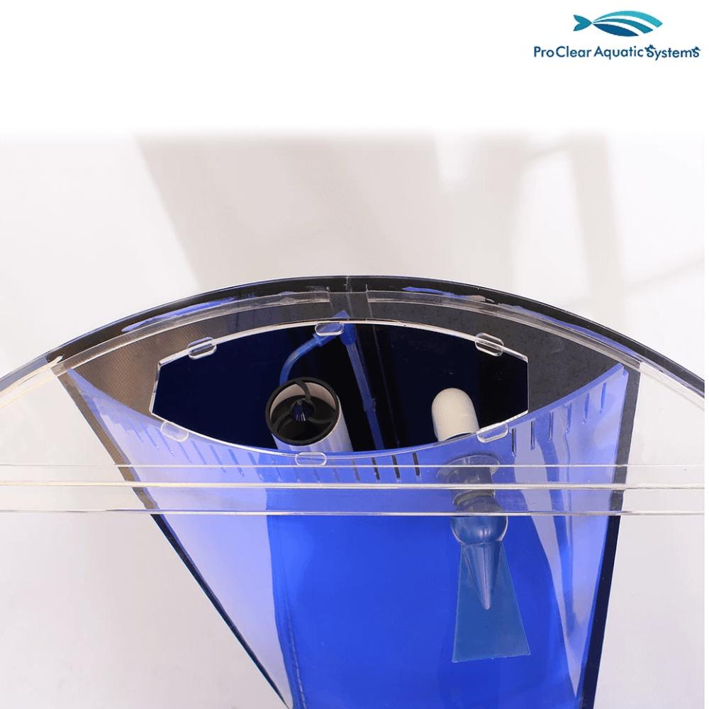 Pro Clear 913299 103 Gallon Cylinder Combo Sump Included Aquariums Tanksquisite Sump Gallon Aquarium Supplies