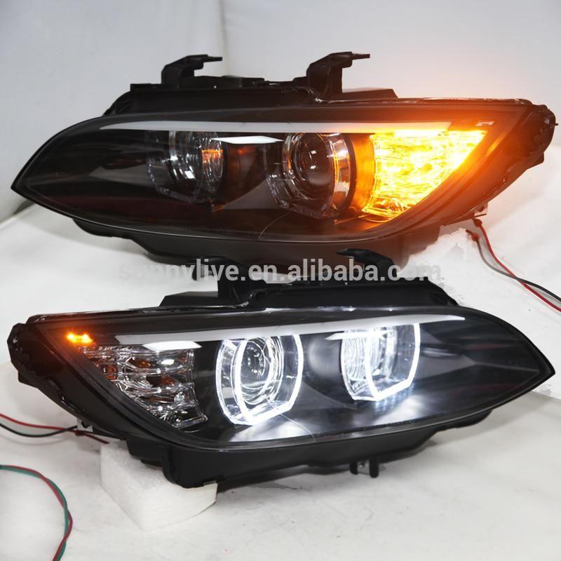 LED Headlights For M3 328i Coupe 335i 330i E92 E93 Head