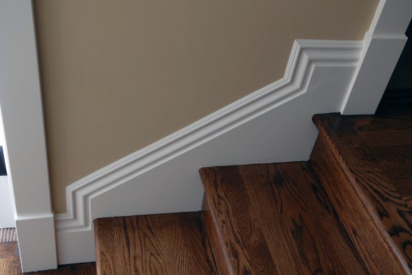 Top 60 Best Stair Trim Ideas