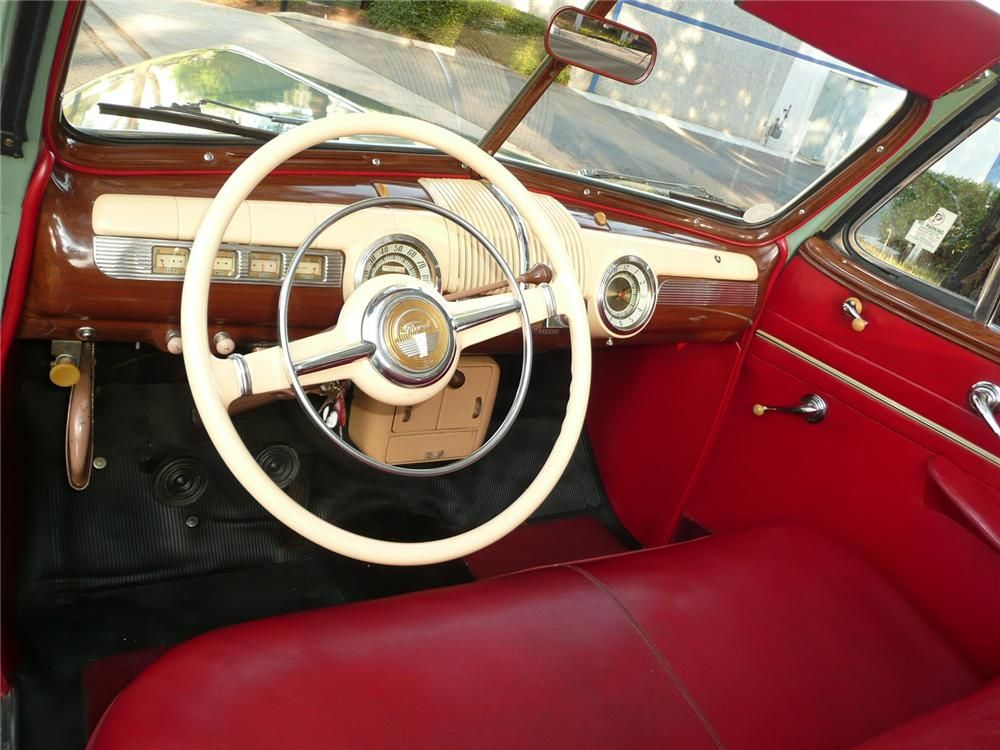 1942 Ford Super Deluxe Convertible Ford Convertible Ford Motor