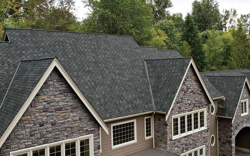 Pin By Raleigh Roofers And Remodeling On Iko Shingles Roof Shingles Grey Brick Houses Roof Styles