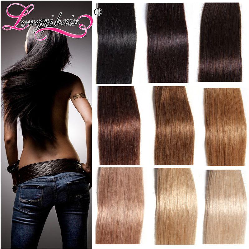 Tape In Human Hair Extension 40pcs100brazilian Virgin Human Hair
