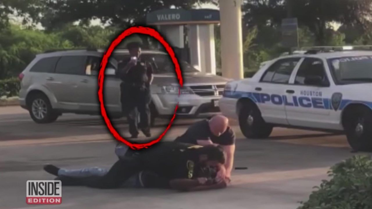 VIDEO Texas security guard hit with reality check after