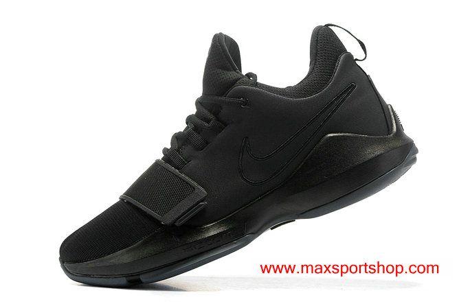 8391782cfe7 2017 Nike PG1 All Black Samurai Men s Basketball Shoes