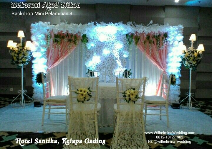 Foto Dekorasi Lighting Pernikahan Oleh Wilhelmina Wedding