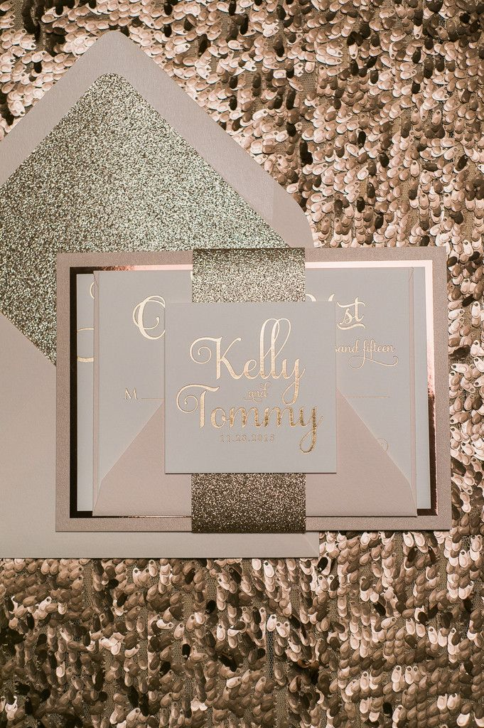 ADELE Suite Fancy Glitter Package rose gold
