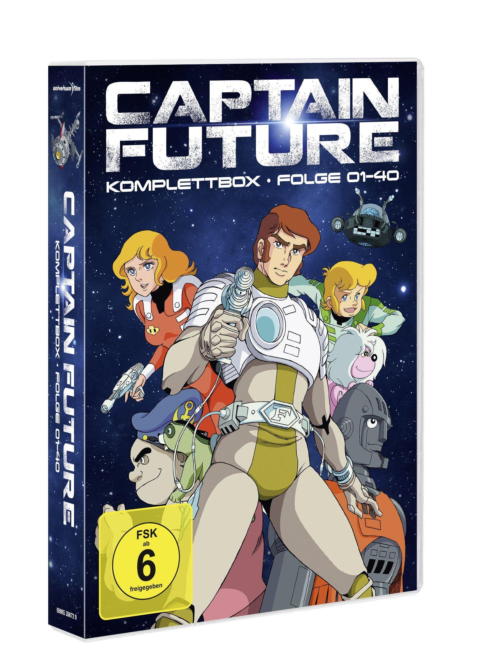 Captain Future Dvd