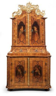 Splendid Baroque Cabinet Art