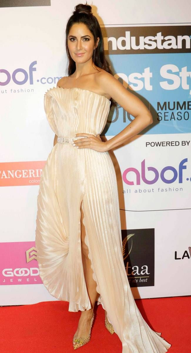 Katrina Kaif At Hindustan Times Most Stylish Awards 2016 Bollywood Fashion Style Beauty Hot Cute Sexy