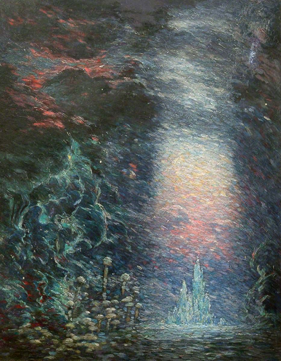 The forgotten gallery in Surrey holding the fantastical paintings of Sidney H Sime – Museum Crush