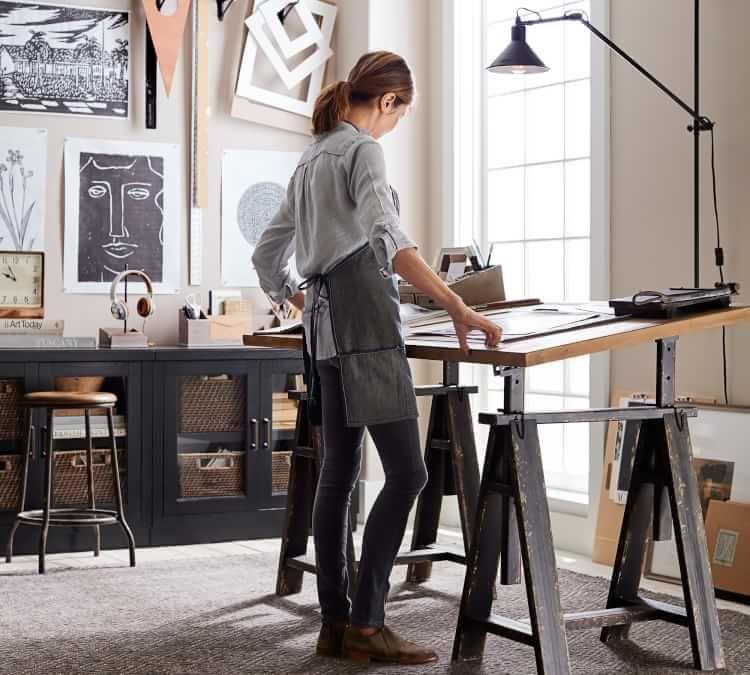 Francisco 62 Drafting Desk Art
