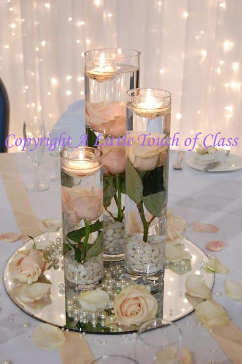Submerged roses google search wedding centerpieces