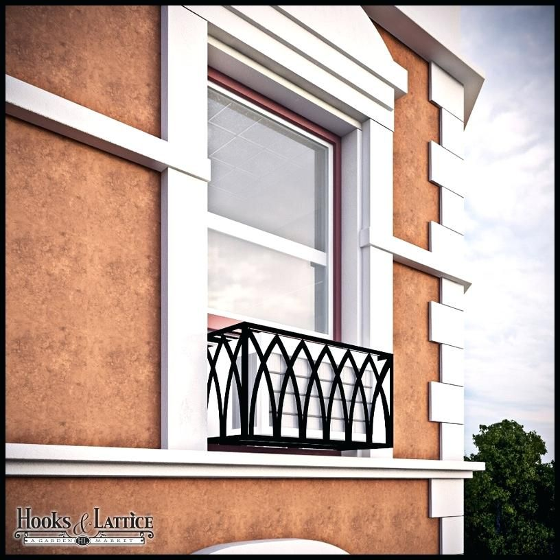 false balcony Window air conditioner cover, Window air