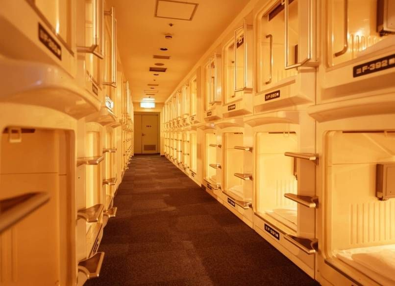 30 Crazy Facts About Japan No One Could Make Up | Capsule Hotels are originated in Osaka